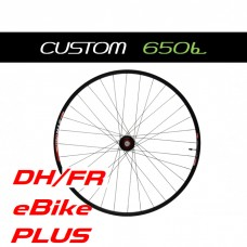 "Custom Handbuilt MTB 27,5"" (650b) E-BIKE, DH/FR, PLUS rear wheel configurator"