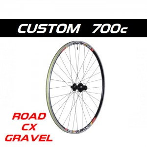 Custom Handbuilt 700c ROAD, GRAVEL, CYCLOCROSS rear wheel configurator