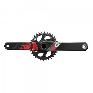 SRAM X01 Eagle Red Crank 1x12-speed 32T Direct Mount GXP