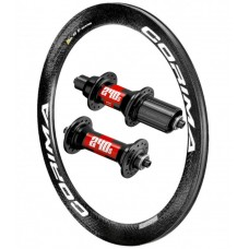 CORIMA 58mm W Carbon Clincher (26mm wide) / DT Swiss 240s 1600g wheelset