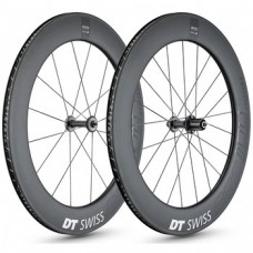 DT Swiss ARC 1100 DICUT 80mm Carbon Clincher / Disc / DT Swiss 240s 1750g wheelset