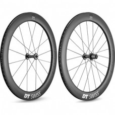 DT Swiss ARC 1400 DICUT 62mm Carbon Clincher / Disc / DT Swiss 240s 1633g wheelset