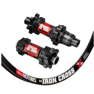 Stan's No Tubes ZTR Iron Cross 700C / DT Swiss 240s IS Straightpull 1445g wheelset