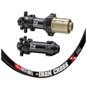 Stan's No Tubes ZTR Iron Cross 700C / Novatec  D411SB / D412SB Straightpull IS 1425g wheelset