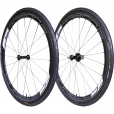 Tufo Carbona 45 Clincher black wheelset + Tufo Calibra Plus Tires
