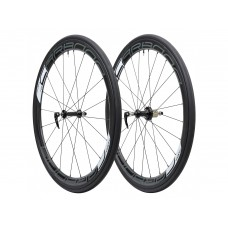 Tufo Carbona 45 Tubular black wheelset + Hi-Composite Carbon Tubular tires