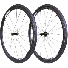 Tufo Carbona 30 Clincher black wheelset + Tufo Calibra Plus Tires