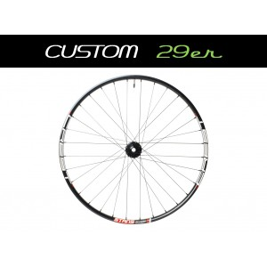 "Custom Handbuilt MTB Rear 29"" Wheel - TEST"