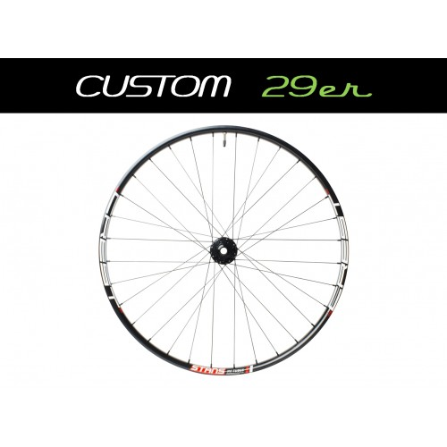 "Custom Handbuilt MTB Rear 29"" Wheel with DT Swiss hub"