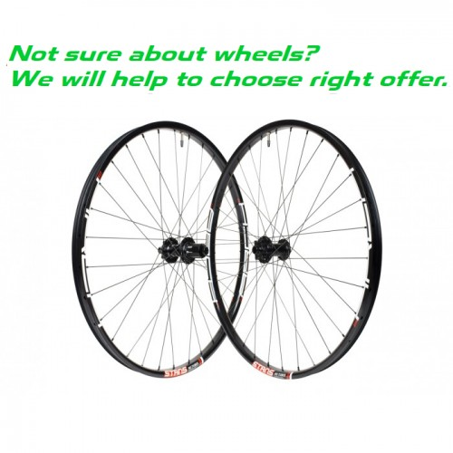 CUSTOM HANDBUILT MTB WHEELS - INQUIRY / QUESTIONNAIRE