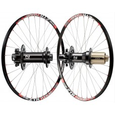 "Stan's No Tubes ZTR PODIUM MMX 26"" / Novatec black 791/792 / DT Competition wheelset 1320g"